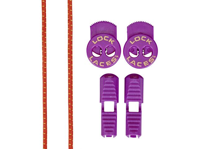 Lock Laces Run Laces, purple cactus